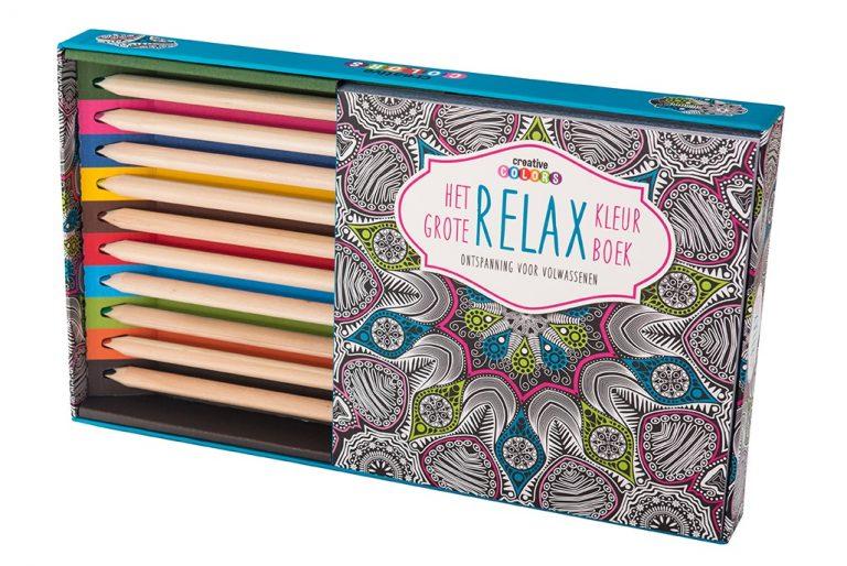9789461883889 Het grote relax kleurboek