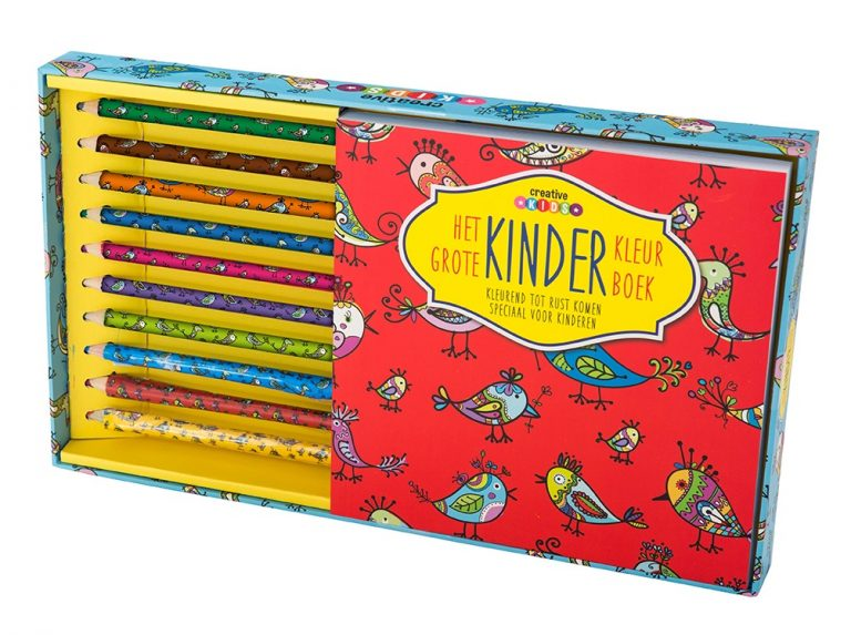 9789461883902 Het grote kinder kleurboek