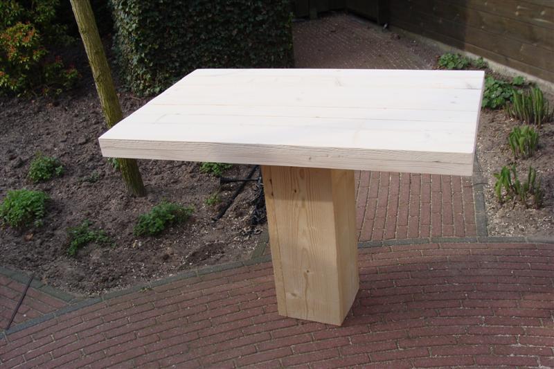 tafel op blokpoot (Medium)